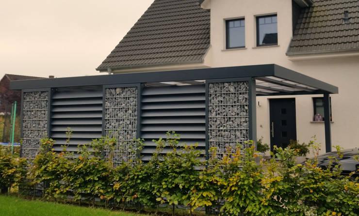 Carport oleh Steelmanufaktur Beyer, Modern Metal