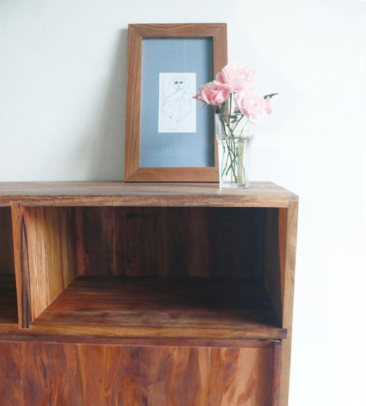 Modular:  de estilo  por Ducoinstudio Diseño de Mobiliario,Minimalista Madera maciza Multicolor