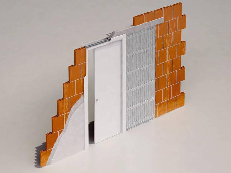 Eenvoudig te installeren schuifdeursysteem:  Deuren door BestFix-Schuifdeursystemen, Modern