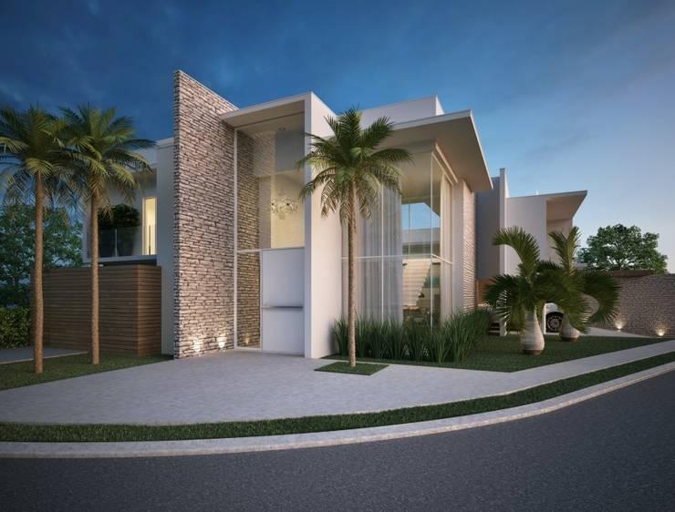 房子 by Marcos Baldasso Arquitetura