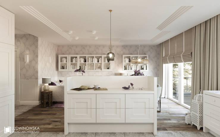Cocinas de estilo  por Ludwinowska Studio Architektury
