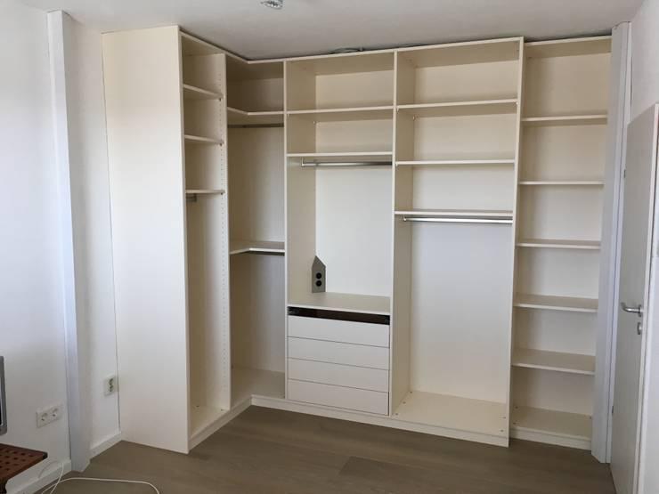 Neuer Boden Und Begehbarer Schrank In Kleinem Zimmer Von Bauer
