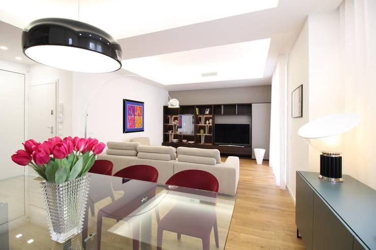 Livings de estilo moderno de Giuseppe Rappa & Angelo M. Castiglione Moderno