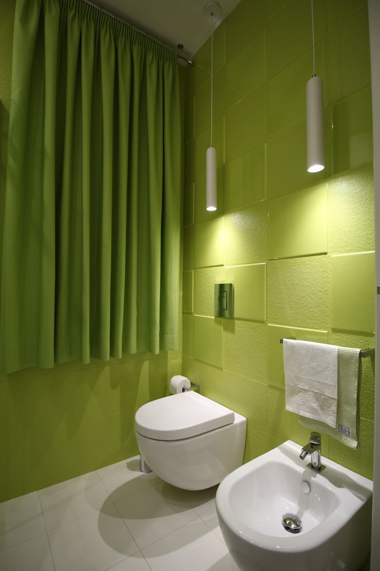 Baños de estilo moderno de Giuseppe Rappa & Angelo M. Castiglione Moderno