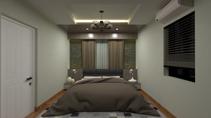 "INTERIOR DESIGN OF APARTMENT (3 BHK): {:asian=>""asian"", :classic=>""classic"", :colonial=>""colonial"", :country=>""country"", :eclectic=>""eclectic"", :industrial=>""industrial"", :mediterranean=>""mediterranean"", :minimalist=>""minimalist"", :modern=>""modern"", :rustic=>""rustic"", :scandinavian=>""scandinavian"", :tropical=>""tropical""}  by RED PAPER DESIGNERS PVT. LTD.,"