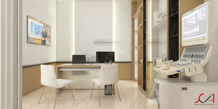 Study/office by SCIArchitecture, Minimalist Plywood