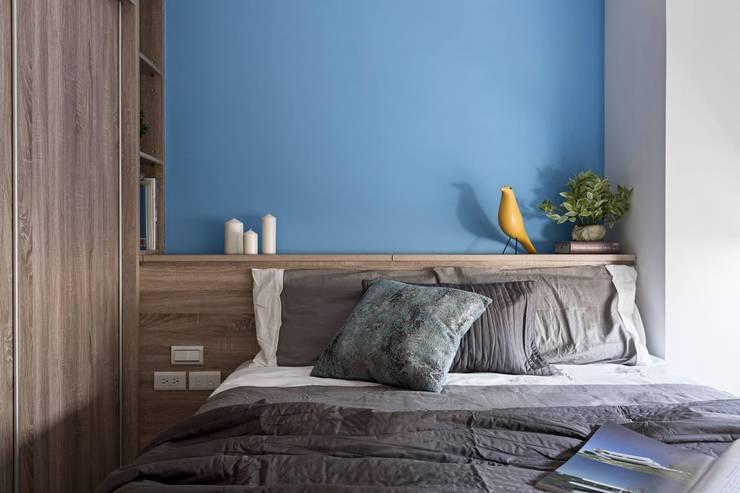 樸.淨:  臥室 by 築川設計