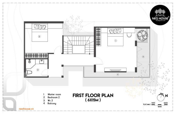 Thiết Kế Nhà Phố Hiện Đại 3 tầng :   by NEOHouse