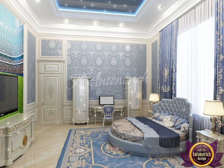 ​The best bedroom design ideas from Katrina Antonovich:  Bedroom by Luxury Antonovich Design