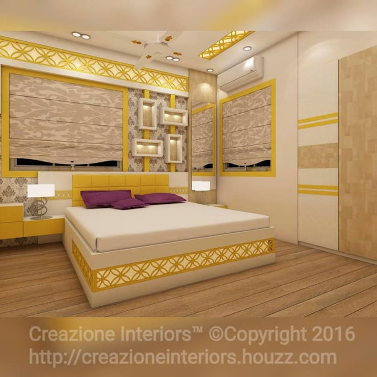 modern Bedroom by Creazione Interiors