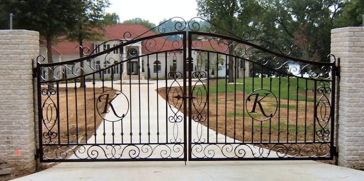 Custom Gate Installation:   by Cape Town Fencing