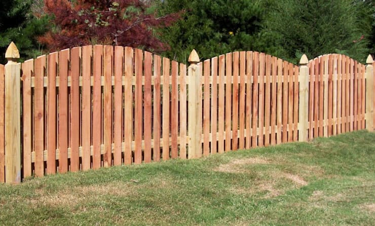 Durable Wooden Fence:   by Cape Town Fencing