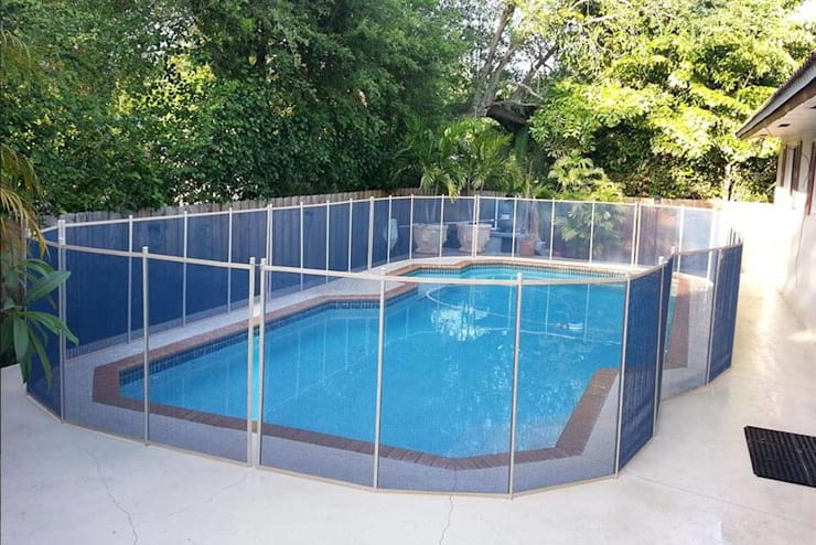 Affordable Swimming Pool Fencing:   by Cape Town Fencing