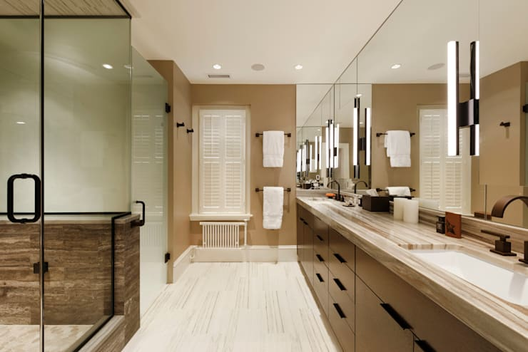 Luxury Kalorama Condo Renovation in Washington DC:  Bathroom by BOWA - Design Build Experts