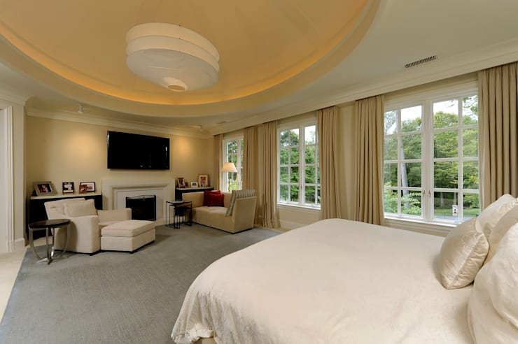 Purchase Consultation and Whole House Renovation in Potomac, Maryland:  Bedroom by BOWA - Design Build Experts