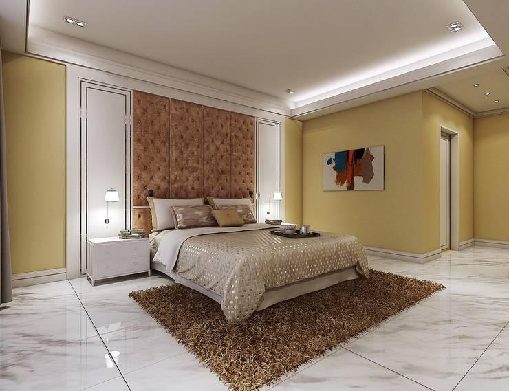 臥室1:   by 木皆空間設計