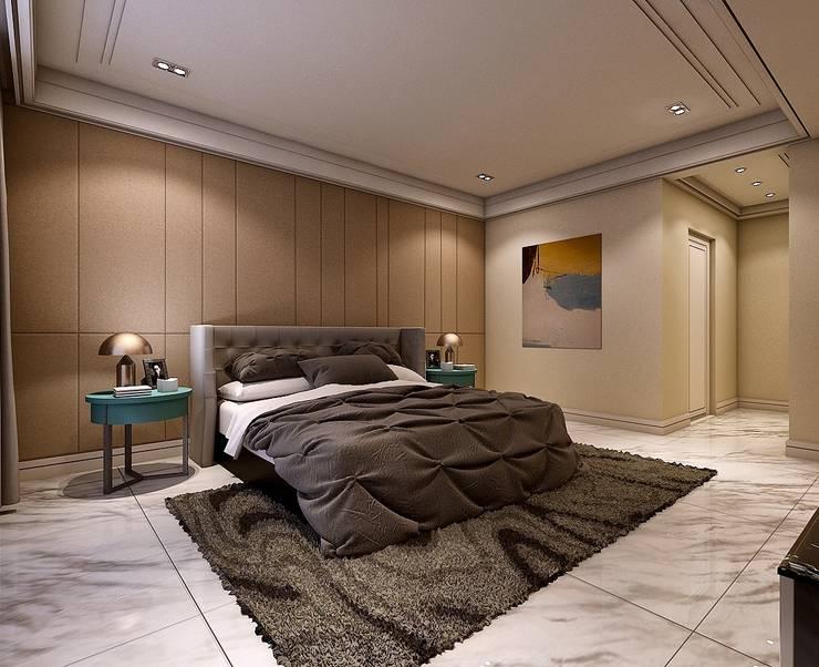 臥室2:   by 木皆空間設計