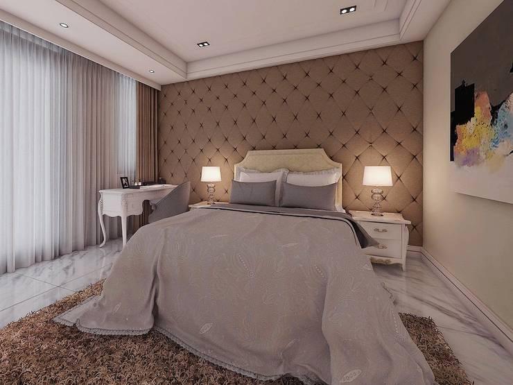 臥室3:   by 木皆空間設計