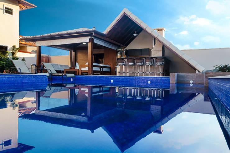 Projekty,  Dom szeregowy zaprojektowane przez MORSCH WILKINSON arquitetura