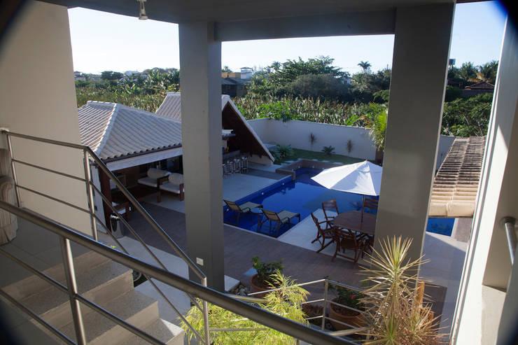 Projekty,  Dom jednorodzinny zaprojektowane przez MORSCH WILKINSON arquitetura