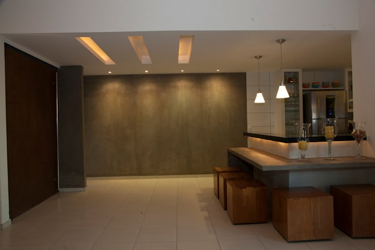 Projekty,  Kuchnia zaprojektowane przez MORSCH WILKINSON arquitetura