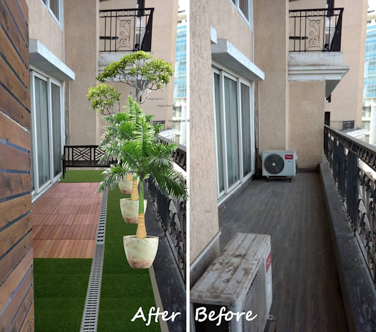 Green Cause:  Terrace by GreenCausa,Modern Wood Wood effect