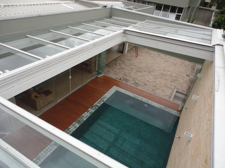 Roof by Belas Artes Estruturas Avançadas