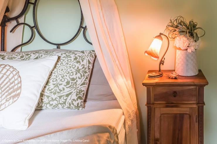 Bedroom by Sapere di Casa - Architetto Elena Di Sero Home Stager