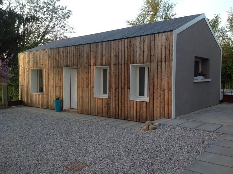 Casas de madeira  por Softarchitecture