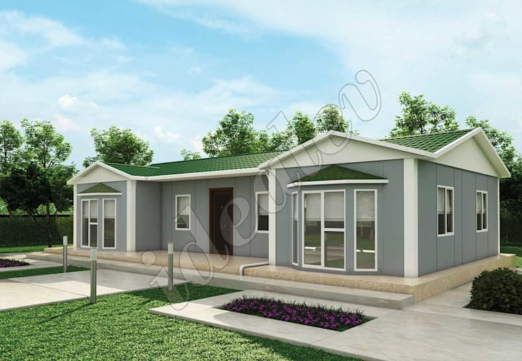Rumah prefabrikasi by İdeal Ev (Prefabrik Evim)