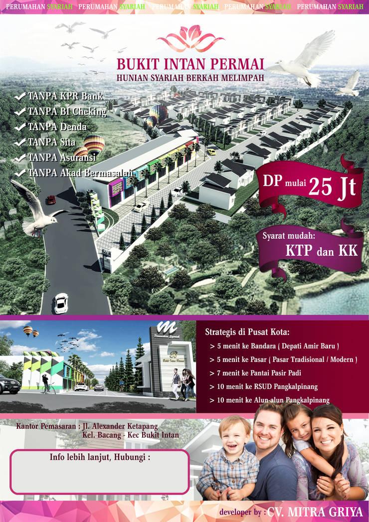 Perumahan Bukit Intan Permai 2:   by bplusarsitektur