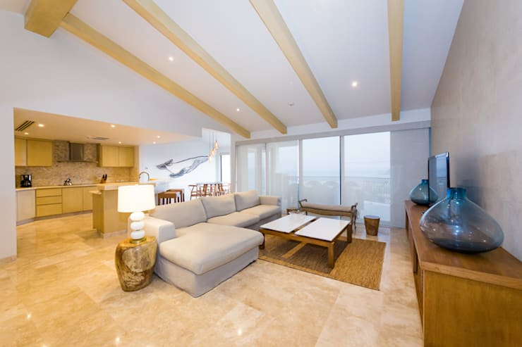 modern Living room by MAR STUDIO