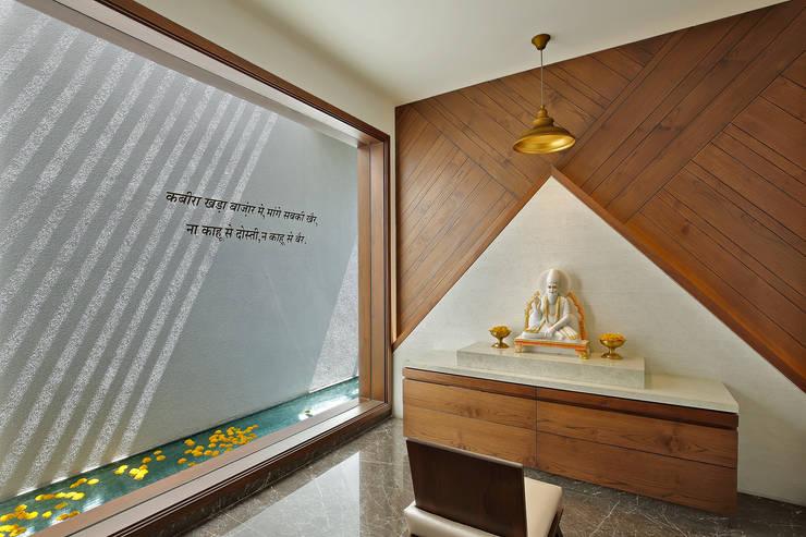 kabir bungalow:  Bathroom by USINE STUDIO