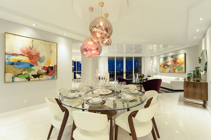Dining room by NIVEL TRES ARQUITECTURA,