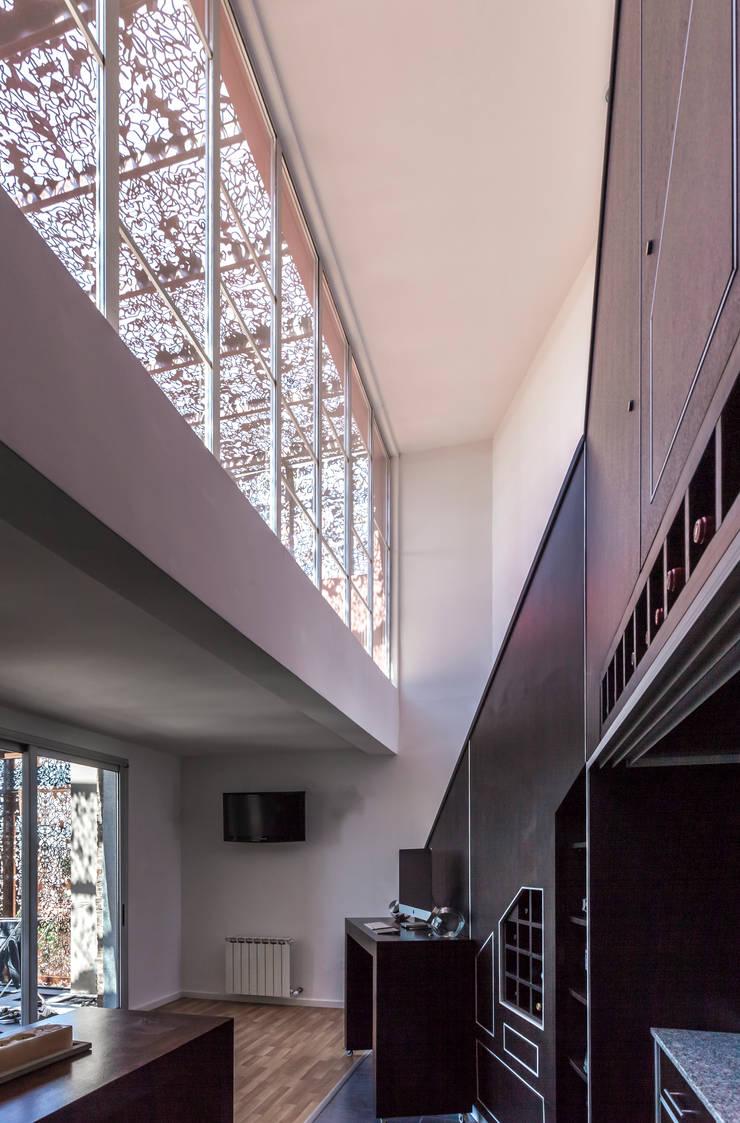Ruang Makan oleh Ciudad y Arquitectura, Modern