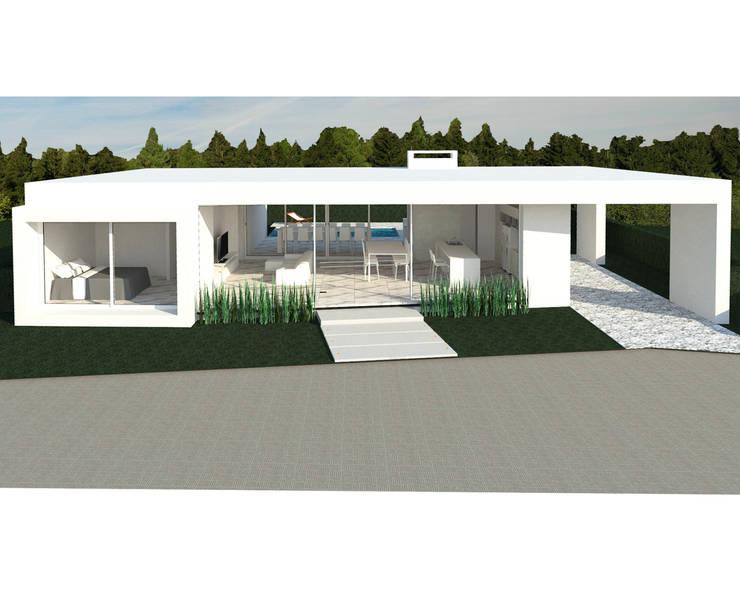 Casa YP: Casas de estilo  por MCA - Estudio de Arquitectura,