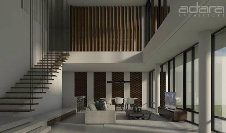 Casa unifamiliare in stile  di Adara Architects, Moderno Cemento armato