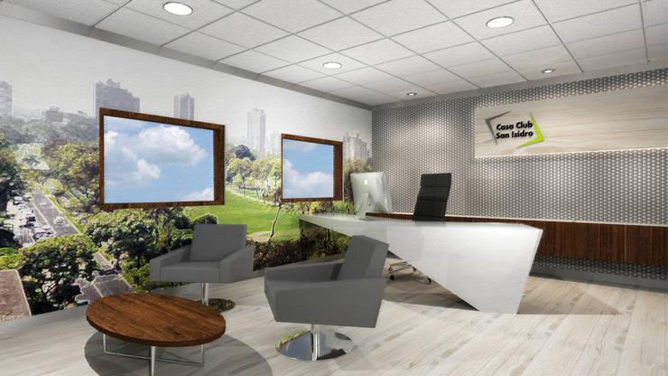 Gerencia: Oficinas y Tiendas de estilo  por Priscila Meza Marrero,
