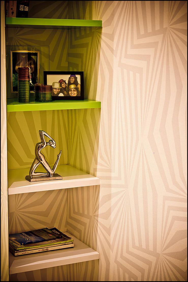 La tierra,Pune:  Bedroom by H interior Design,Modern