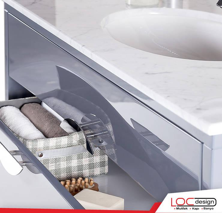 浴室 by Loc Design Mutfak Banyo