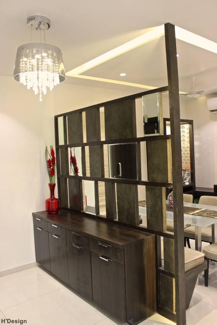 Mystic Moods,Pune:  Corridor & hallway by H interior Design