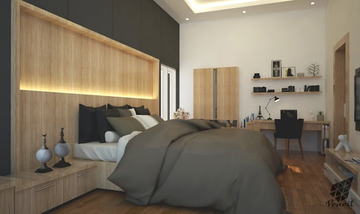 -:  Kamar Tidur by Pencil Creative Design