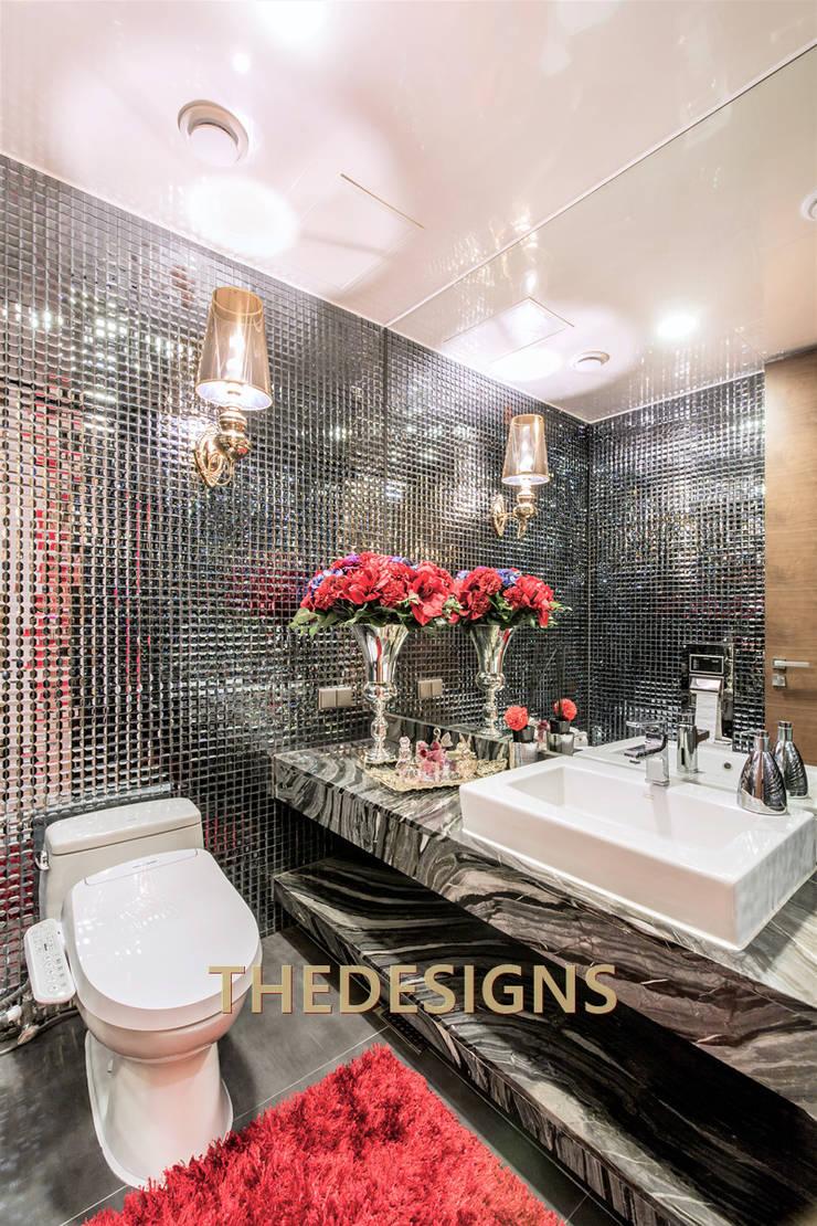 갤러리아포레: thedesigns의  욕실