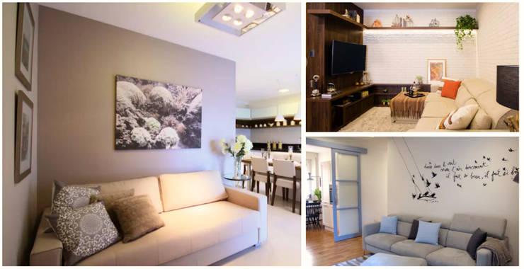 Te damos m s de 20 ideas para decorar salones peque os - Ideas salones pequenos ...