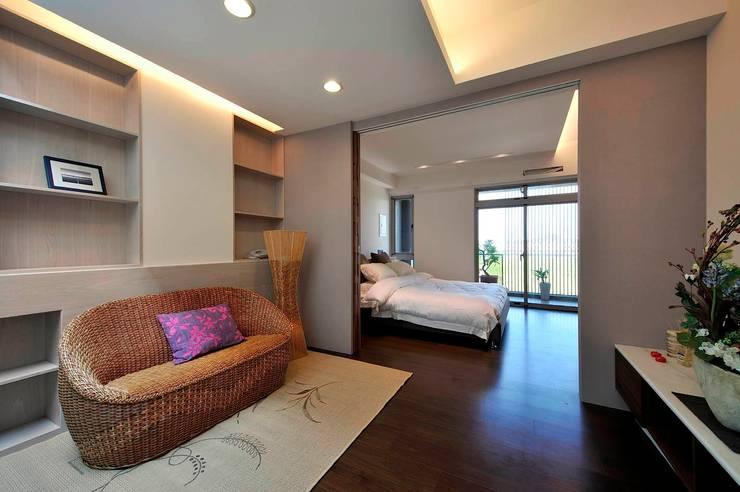 一穰設計_EO design studioが手掛けた寝室