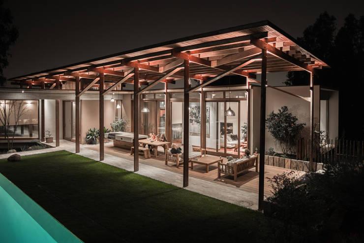 Casa Terraza: Livings de estilo  por Dx Arquitectos