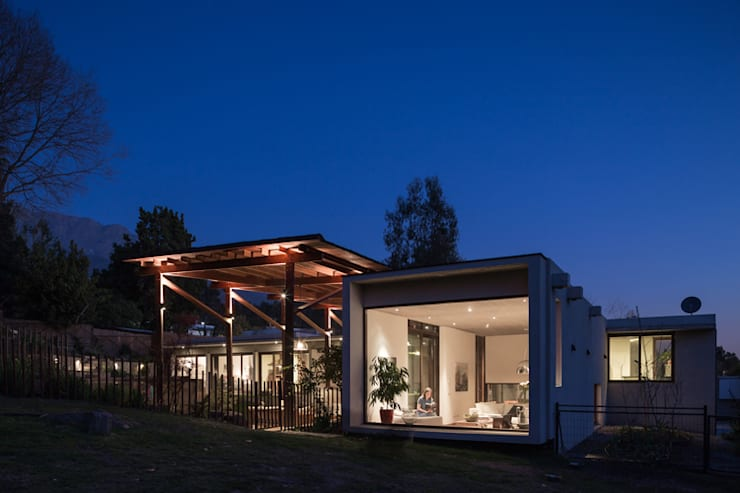 Casa Terraza: Casas de estilo  por Dx Arquitectos