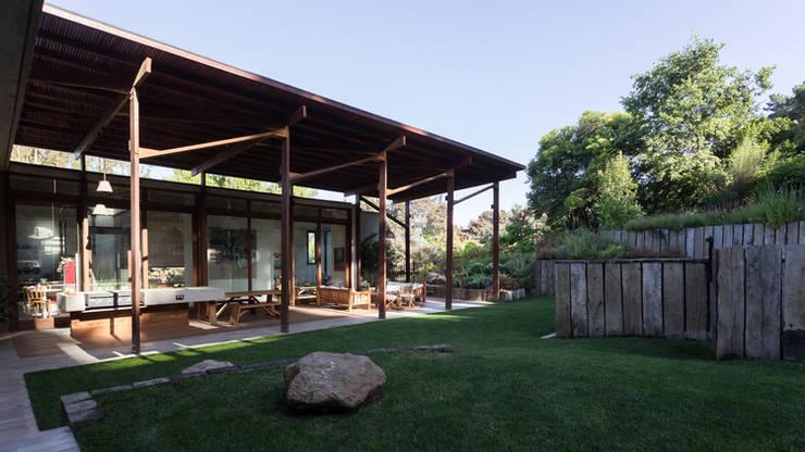 Casa Terraza: Jardines de estilo  por Dx Arquitectos