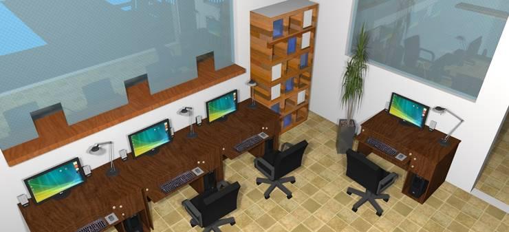 Ruang Pendaftaran :  Rumah Sakit by Azka Studio