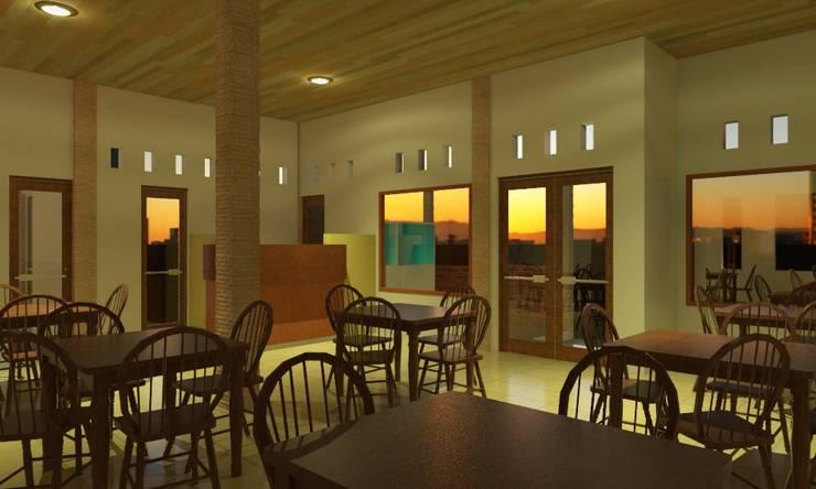 Interior:  Restoran by Azka Studio